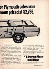 1970 Rambler Rebel Wagon American Motors Page 2 USA Original Magazine Advertisement (Darren Marlow) Tags: 1 7 9 19 70 1970 r rambler rebel w wagon a american m motors c car cool collectible collectors classic automobile v vehicle u s usa us united states america 70s