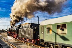 Running to a new Destination (*Capture the Moment*) Tags: 2019 dampflok december dezember fotowalk munich münchen nikolauszug sonya7m2 sonya7mii sonya7mark2 sonya7ii sonyilce7m2 steamengine steamtrain train