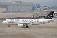 """""""Richterswil"""" Swiss International Air Lines HB-IJM Airbus A320-214 cn/635 painted in """"Star Alliance"""" special colours 12-2014 @ LSZH / ZRH 24-02-2018 (Nabil Molinari Photography) Tags: richterswil swiss international air lines hbijm airbus a320214 cn635 painted staralliance special colours 122014 lszh zrh 24022018"""