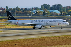 TC-JRL  A321-231 Turkish Star Alliance Estambul Atatürk 22-10-16 (Antonio Doblado) Tags: tcjrl a321 321 airbus turkish staralliance estambul atatürk aviacion aviation aircraft airplane airliner