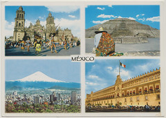 из Мехико (Мексика) (chourique1) Tags: postcard swap mexico esplapaz