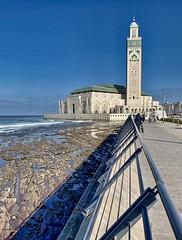 Mezquita Hassan II en Casablanca (Oscar García) Tags: africa marruecos morocco mezquita mosque casablanca religión muslim munsulmásn religion