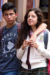 Young Couple, Guanajuato (klauslang99) Tags: klauslang streetphotography people couple girl boy love guanajuato mexico
