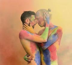 Stay with me (Angelo Nairod) Tags: gay instagay lgbt gayboy pride lgbtq love smokebomb colors angelonairod nairod kiss art myimmortal samsmith