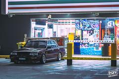 _DSC7148 (Prime Excel) Tags: r31 nissan skyline automotive cars nightphotography night tones 7eleven
