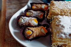 Italian sweets from Warsaw (margycrane) Tags: sweets italiansweets słodycze canollosiciliano plearure food labomboniera leicacameraagleicaq 280mmf17 leciaq