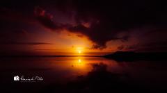 A Kircubbin Sunset (RonnieLMills 7 Million Views. Thank You All :)) Tags: kircubbin fishing village county down sunset strangford lough reflections clouds sun yacht club silhouette