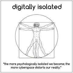 Digital Isolation (iPredator) Tags: brooklyn ai iot cyberpsychology cybersecurity darkpsychology digital facebook instagram infosec internet internetsafety onlinesafety nyc socialmedia stalking terrorism tips twitter war