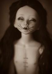 the eye (dolls of milena) Tags: bjd abjd resin doll eye akubi unoa alchemic labo portrait creepy spooky dark