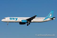 TC-SKL (Airlinerphotos.de) Tags: ams a321 skyairlines