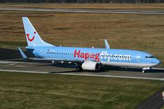 D-ATUH (PlanePixNase) Tags: aircraft airport planespotting haj eddv hannover langenhagen plane boeing 737800 737 b738 tui tuifly hapaglloyd hapagfly