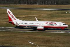 D-ABAP (PlanePixNase) Tags: aircraft airport planespotting haj eddv hannover langenhagen plane boeing 737 airberlin 737800 b738