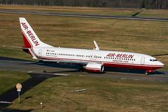 D-ABAE (PlanePixNase) Tags: aircraft airport planespotting haj eddv hannover langenhagen plane boeing 737 airberlin 737800 b738