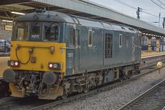 GBRF Caledonian Sleeper Class 73 73970 (Rob390029) Tags: gbrf caledonian sleeper class 73 73970 newcastle central railway station ncl