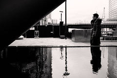*** (jarekwojtowicz) Tags: blackandwhite candidstreetphotography streetphotography fujifilm fujicron bw silhouette