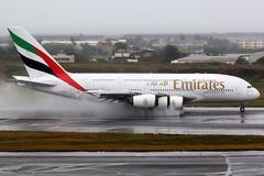 Emirates   Airbus A380-800   A6-EEE   Taipei Taoyuan (Dennis HKG) Tags: aircraft airplane airport plane planespotting canon 7d 100400 taipei taiwan taoyuan rctp tpe emirates emiratesairline uae ek airbus a380 a380800 airbusa380 airbusa380800 a6eee