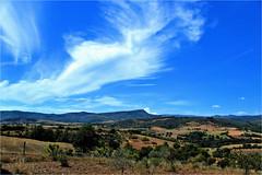 national park de montesinho (atsjebosma) Tags: landscape landschap spain spanje mountains bergen trees bomen atsjebosma bike fiets bluesky clouds wolken summer july 2019 coth5
