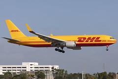 HP-3310DAE - DHL -  Boeing 767-304ERBCF(WL) - DHL - KMIA - Jan 2020 (peachair) Tags: hp3310dae panama dhl aero expreso kmia mia 767 300 300f 28042 649