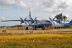 AeroVis Airlines Antonov An-12 (Infinity & Beyond Photography: Kev Cook) Tags: aerovis airlines antonov an12 aircraft opalocka airport