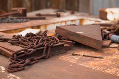 Parts (lars hammar) Tags: rust metal