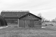 Family Farm (BW), Howell, MI, April, 2019 (Norm Powell) Tags: instadaily bnw howell art puremichigan justgoshoot michiganders canoneos anamericanperspective canonphotos picoftheday thedeathoftheamericandream michigan agameoftones americanportrait bw picture monochromephotography visualambassadors visualsoflife canon instagood pics architecture camera instaphoto photooftheday pic unitedstatesofamerica