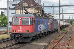 Re6/6 620033 20190515 Pratteln (steam60163) Tags: switzerland swissrailways pratteln sbb sbbcargo re66 class620