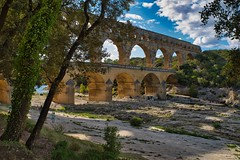 Pont du Gard (AWe63) Tags: pontdugard roman römer römischeruinen antik aquädukt aqueduct brücke bridge gard river fluss tal pentax pentaxk1mkii france frankreich südfrankreich provence andreasweyermann cawe63