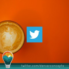 Follow us on Twitter! (DenverConcepts) Tags: twitter denver