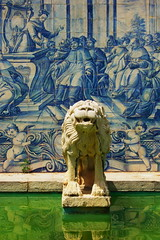 Memories of a sunny day (renate-franzen) Tags: azulejos summer portugal hot blue white