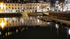 Torquay Harbour Town/Harbour (KielTheLegend) Tags: kielthelegend torquay devon uk torbay england united kingdom harbour water reflection night time nighttime lights photography canon eos 6d full frame town wallpaper 1080p 16x9 mark 2 ii geotag geotagged