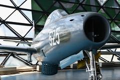 Republic F-84G-31-RE Thunderjet (10525) (Bri_J) Tags: belgradeaviationmuseum muzejvazduhoplovstvabeograd музејваздухопловствабеоград surčin belgrade serbia сурчин београд србија airmuseum aviationmuseum museum aircraft republic f84g31re thunderjet 10525 jet fighter hdr coldwar usaf