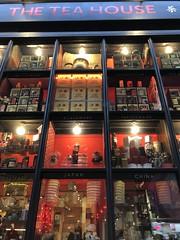 the tea house (Hayashina) Tags: shop window red london tea