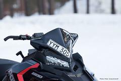 Snowmobile! (petergranström) Tags: approved snowmobile snöskoter hood huv headlamp strålkastare styre