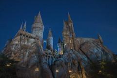 Hogwarts Castle at Night. (LisaDiazPhotos) Tags: unistudios lisadiazphotos hogwarts castle night wizarding world harry potter