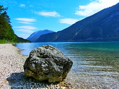 Achensee (holdinghausenm) Tags: achensee tirol tyrol austria österreich autriche landschaft landscape paysage paesaggio voyage reisen viaggio travel travelling mountains berge urlaub holdays vacances nature new outside lake lago lac see water coth coth5