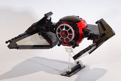 TIE Razor (Librarian-Bot) Tags: starfighter fighter tie lego moc starwars