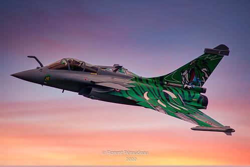 Dassault Rafale Solo Display Tiger meet Armée de l' Air