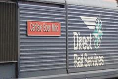 COATBRIDGE 66428 CARLISLE EDEN MIND (johnwebb292) Tags: coatbridge diesel class 66 66428 carlisleedenmind drs plaque