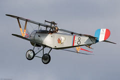 Scout (Aeroplanes Everywhere) Tags: aircraft biplane warbird warbirds vintageaircraft ww1aircraft fighteraircraft fighter airshows singleenginedaircraft aviation pistonenginedaircraft seasonpremiere airplanes unitedkingdom england biggleswade terrace