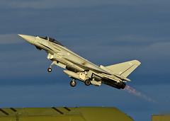 ZK426 (np1991) Tags: royal air force raf lossiemouth lossie moray scotland united kingdom uk nikon digital slr dslr d7200 camera nikor 70200mm vibration reduction vr f28 lens aviation planes aircraft eurofighter typhoon fgr4 afterburner reheat burner