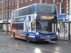 24 January 2020 Salisbury (3) (togetherthroughlife) Tags: 2020 january wiltshire salisbury stagecoach bus 8 sn66vvk 10699