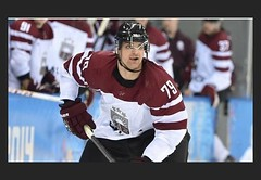 Vitalijs PAVLOVS (kirusgamewornjerseys) Tags: pavlovs game worn jersey ice hockey latvia