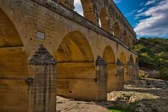 Pont du Gard (AWe63) Tags: pontdugard aquädukt aqueduct roman römer römischeruinen antik brücke bridge gard tal provence südfrankreich france frankreich luminar4 luminar madewithluminar pentax pentaxk1mkii andreasweyermann cawe63