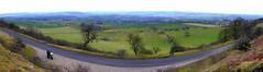 Longstone Edge (6 picture stitch) (Mike-Lee) Tags: longstoneedge peakdistrict cagivanavigator1000 bike motorbike mike jill jan2020 derbyshire stitch imagecompisiteeditor 6picturestitch pano