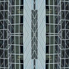 (jfre81) Tags: chicago downtown loop urban kaleidoscope series abstract architecture minimalism geometric pattern texture mirrored flipped folded triptych board trade annex modern postmodern 312 windy second city james fremont photography jfre81 canon rebel xs eos
