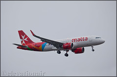9H-NEC Airbus A320-251N Air Malta (elevationair ✈) Tags: lgw egkk london gatwick gatwickairport londongatwick uk england unitedkingdom europe avgeek aviation airplane plane arrival landing cloudy overcast airbus airmalta a320 airbusa320251n neo newengineoption 9hnec