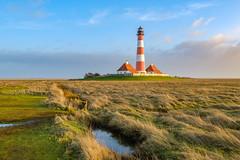 Westerhever 4/4 (lars.stender) Tags: westerhever schleswigholstein deutschland leuchtturm lighthouse nordsee northsea fuji xt3 fujixt3 wattenmeer sonnenuntergang sunset