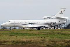 N747RL (GH@BHD) Tags: n747rl dassault falcon falcon7x lewisaeronautical belfastinternationalairport aldergrove bfs egaa trijet bizjet corporate executive aircraft aviation