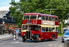 DSC_4950w (Sou'wester) Tags: bus buses publictransport psv reading rally runningday preserved preservation vintage veteran historic busstation station