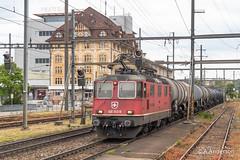 Re4/4ii 420313 20190515 Pratteln (steam60163) Tags: switzerland swissrailways pratteln sbb sbbcargo class420 re44ii